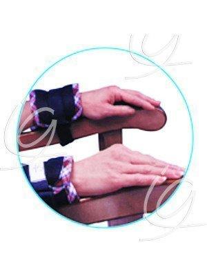 Ceinture ventrale Arpegia - La paire d'attache-poignets.