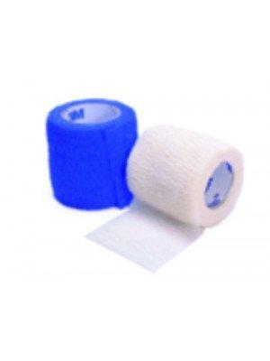 Bandes cohésives élastiques 3M™ Coban™ et 3M™ Coheban™* - 3M™ Coban™ dim. 2,5 cm x 4,5 m (longueur étirée).