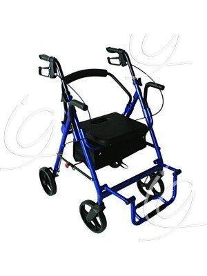Rollator 4 roues Sit'n roll II