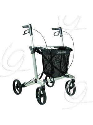 Rollator 4 roues Gemino - Gemino 20, gris.