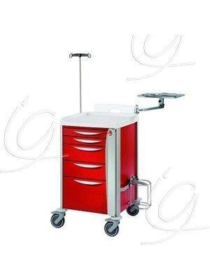 Chariot d'urgence petit modèle - Le chariot rouge.