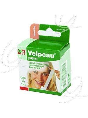Sparadrap en non tissé Velpeau® pore* - Dim. 5 m x 2,5 cm.