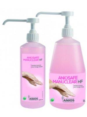 Aniosafe Manuclear HF - Le bidon de 1L Airless parfumé et coloré.