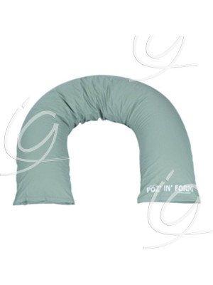 Coussins Poz'in'form® fibres effet mémoire - Coussin semi-fowler dim. 200 x 30 cm.
