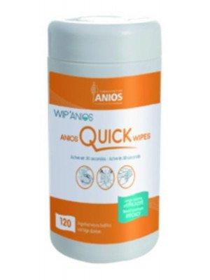 Anios Quick'Wipes (3) - La boîte de 120 lingettes dim. 19 x 13 cm.
