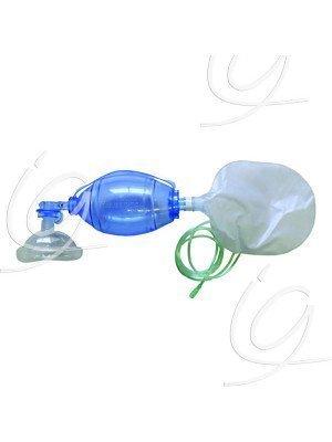 Insufflateur à usage unique - Adulte + réservoir O² + Masque T5.