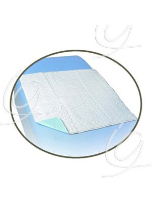 Alèse de lit - Dim. 85 x 90 cm, avec rabats.