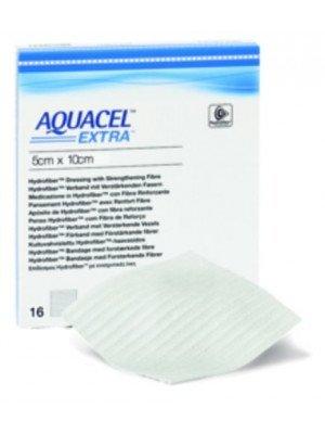Pansement hydrofibre Aquacel® Extra™ - La boîte de 10, dim. 18 x 23 cm.