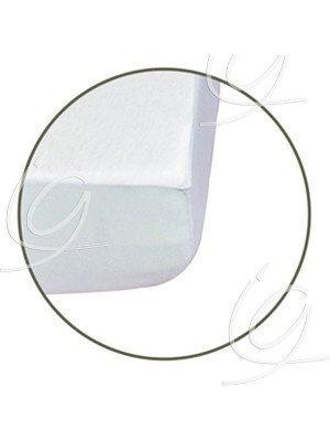 Draps housses - Drap housse bouclette blanc, largeur 90 cm.