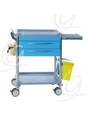 Chariot d'urgence 2 tiroirs