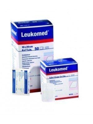 Pansement adhésif post-opératoire Leukomed® - La boîte de 50, dim. 5 x 7,2 cm.