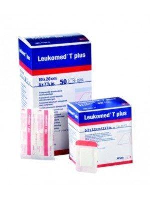 Pansement post-opératoire Leukomed® T plus - La boîte de 50, dim. 5 x 7,2 cm.