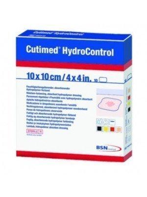 Pansement régulateur d'humidité Cutimed® HydroControl - La boîte de 10, dim. 10 x 10 cm.