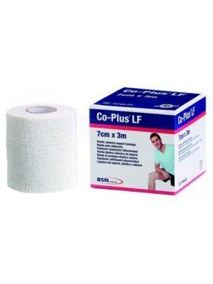Bande cohésive polyvalente de contention Co-Plus® LF - Blanche, dim. 4,5 m x 7,5 cm.