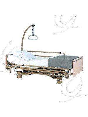 Lit Euro 9300/2 - Lit EURO 9302 avec relève-jambes électrique à plicature (3 fonctions).