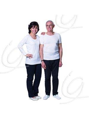 Tee-shirt spécial corset - Femme manches courtes.